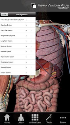 تطبيق  Human Anatomy Atlas 2019 مكرك, تطبيق Human Anatomy Atlas 2019 عضوية فيب