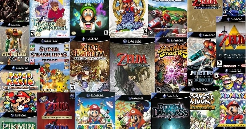 gc game covers - GameCube Roms ISO Torrents