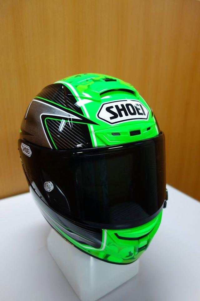 racing helmets garage shoei x spirit iii e laverty 2016 by asd painted by shoei. Black Bedroom Furniture Sets. Home Design Ideas