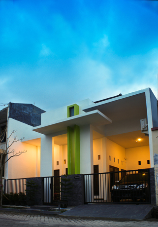 Contoh Rumah Minimalis cor 2019