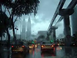 Hujan Pagi Ini Menambah Baik Kualiti Udara