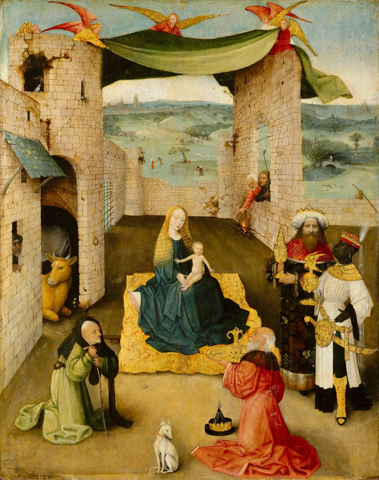 Adoração dos Magos - Bosch, Hieronymus e suas principais pinturas