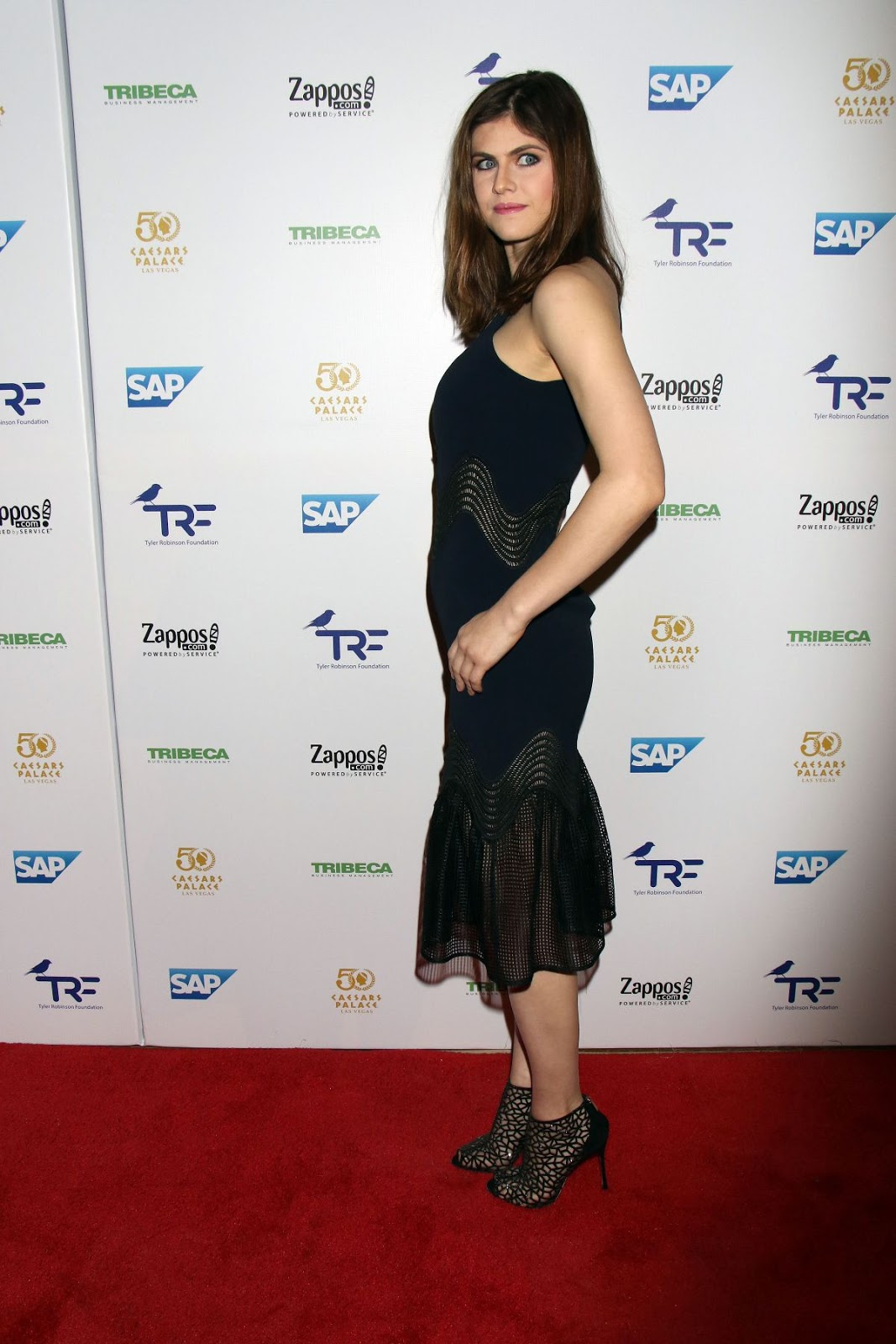 Alexandra Daddario at Tyler Robinson Foundation Gala
