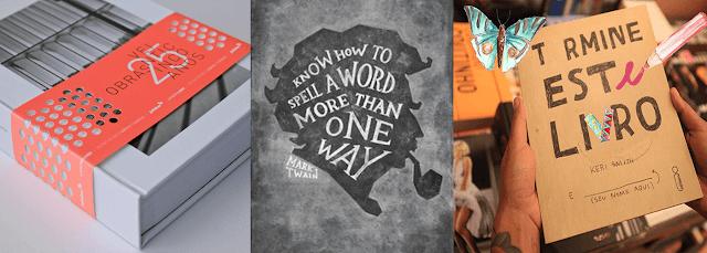 12 capas de livros criativas