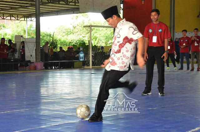 Wabup Arifin Buka Magnum Futsal Cup 2017