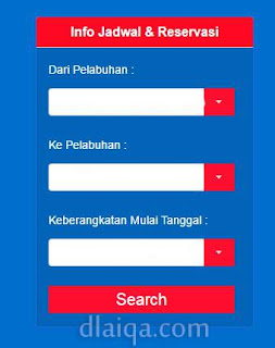 Pesan Tiket Kapal Pelni Online