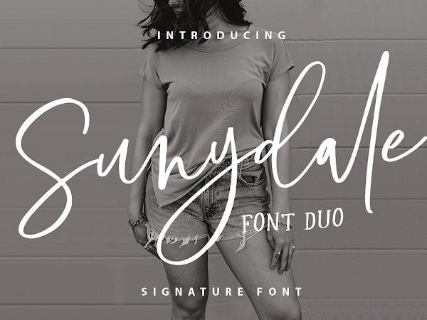 Sunydale Feminine Script Font Free Download