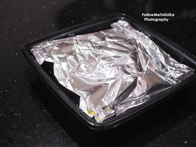Chinese Herbals Steam Kampung Chicken 锡纸药材菜園鸡 Served In Foil