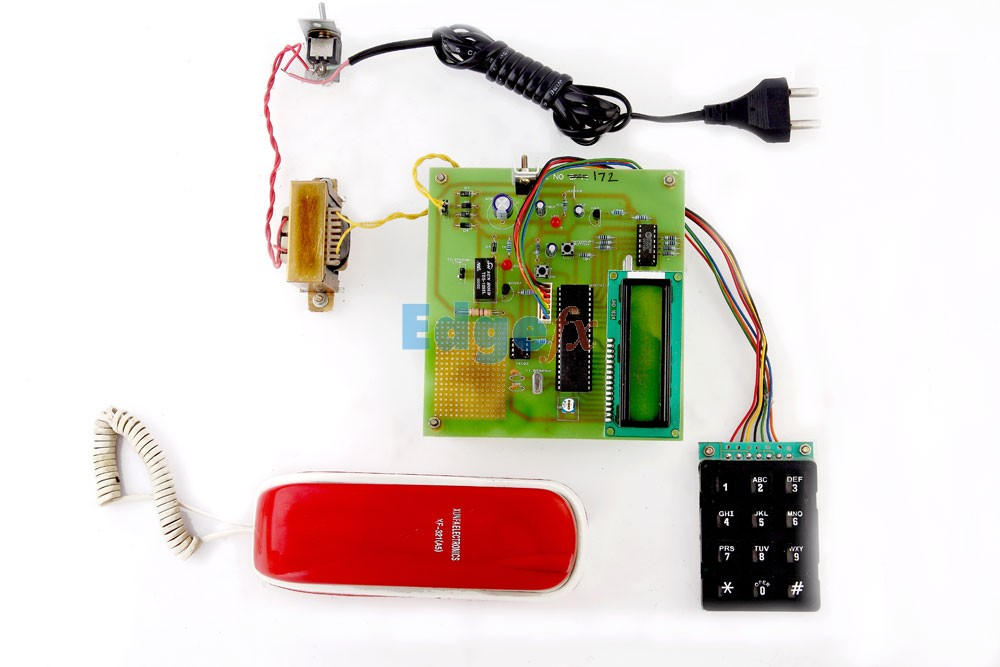 Automatic Dialing To Any Telephone Using I2c Protocol On