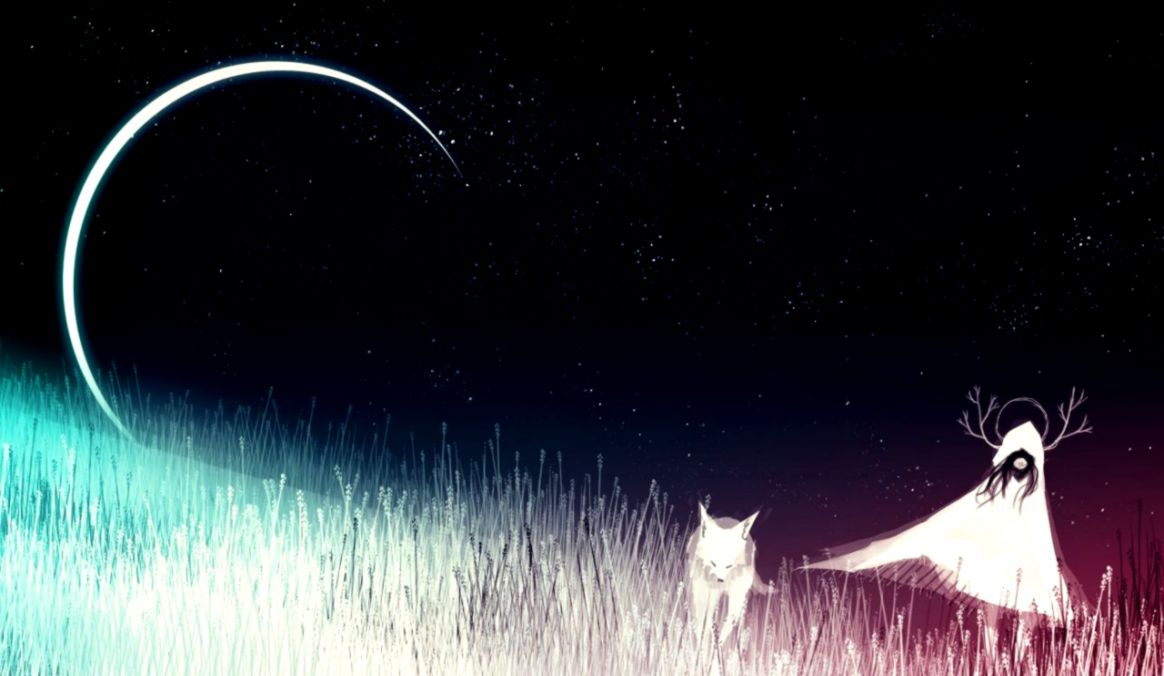 Girl Moon Hd Wallpapers Pc