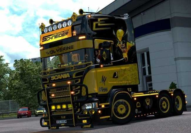 GamesMods17 : Realistic Physics All Trucks v1 0 ETS2