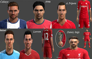 Facepack + Tattoo v3 Pes 2013 By-Emre