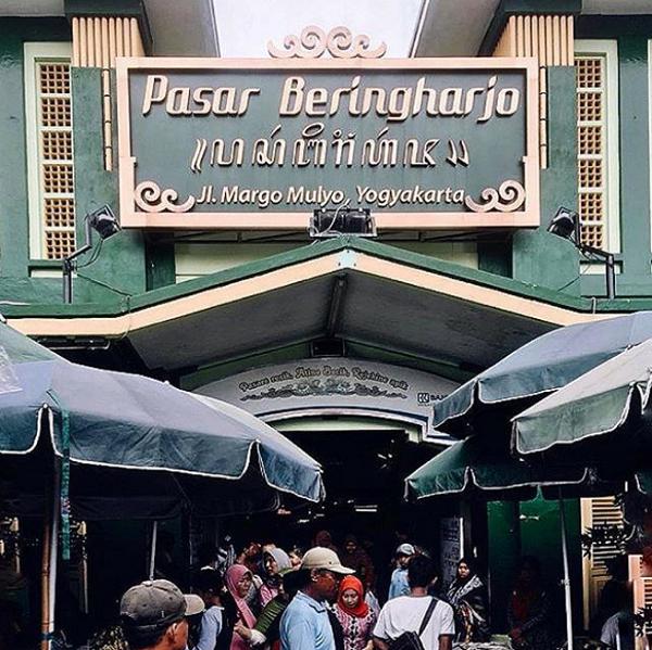 tempat wisata dekat malioboro pasar bringharjo