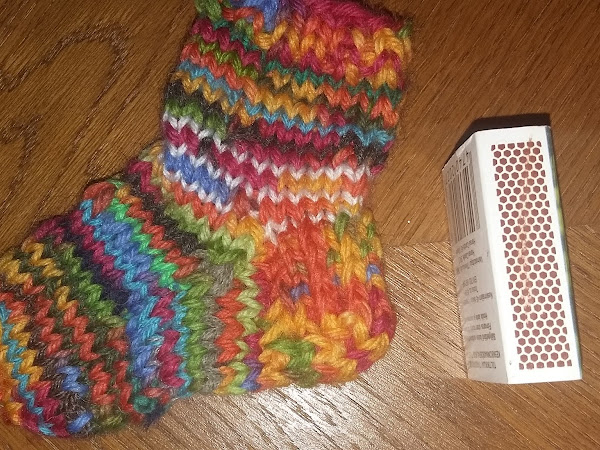 Minisukka - Mini Knit Sock