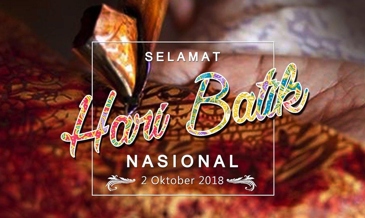Kumpulan Kata Kata Ucapan Hari Batik Nasional 2 Oktober 2019