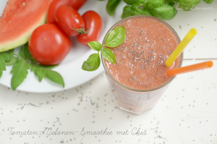 rezept tomaten melonen smoothie mit chia bissen f rs gewissen. Black Bedroom Furniture Sets. Home Design Ideas