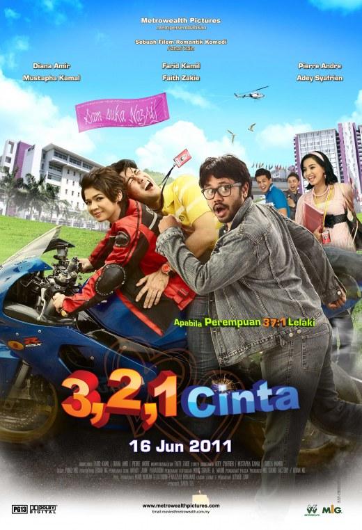 Review Filem 3,2,1 Cinta