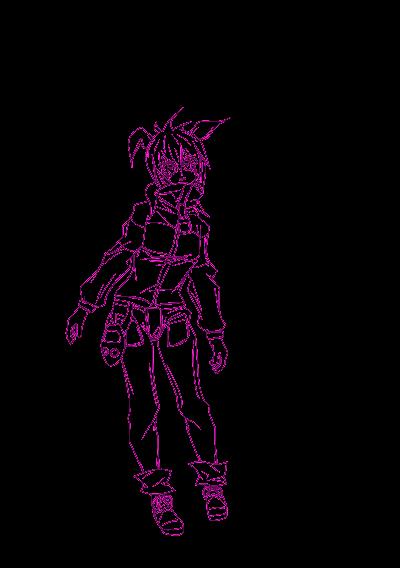 kell0x - Ori - Pink - Contornos