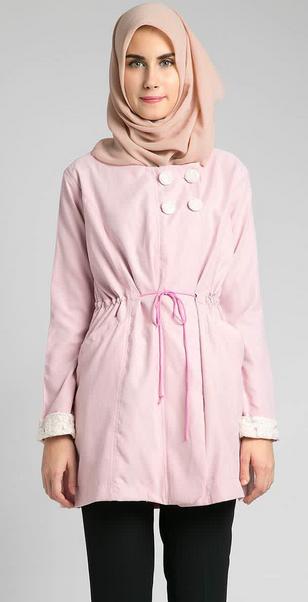 Contoh Gambar Model Fashion Baju Muslim Casual Wanita 2016