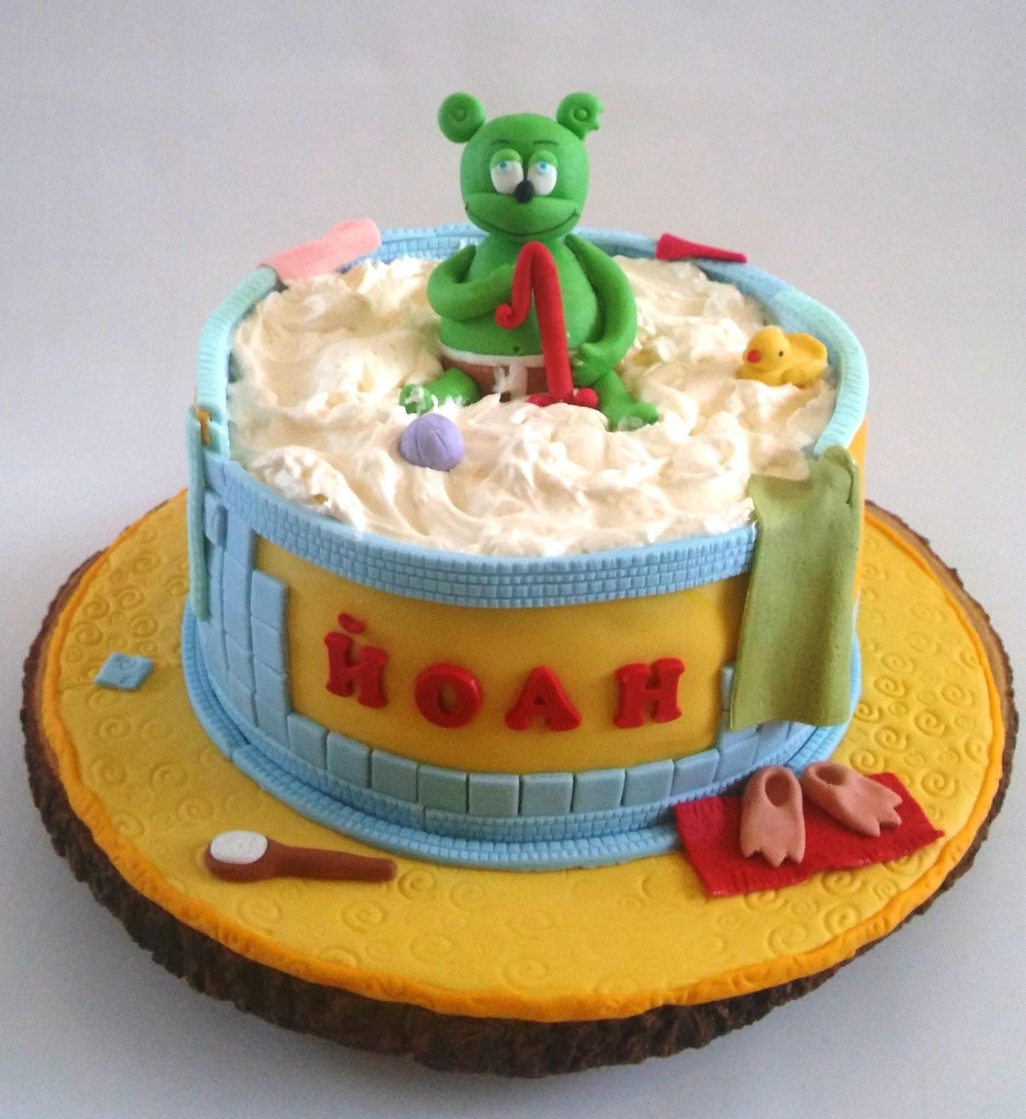 Marvelous Cakesophia Gummy Bear Cake Funny Birthday Cards Online Benoljebrpdamsfinfo
