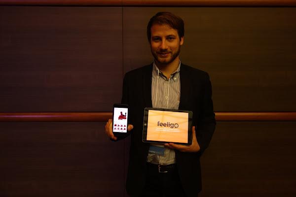 feeligo的共同創辦人暨技術長 Davide Bonapersona