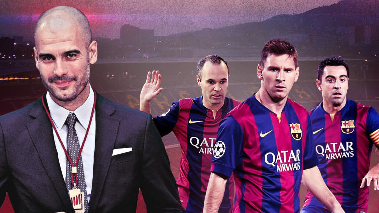 Messi Iniesta And Xavi Hernandez The Magical Mix From The Golden Generation Of Fc Barcelona