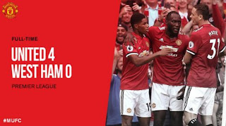 Video Gol Manchester United vs West Ham 4-0 Liga Inggris 13/8/2017