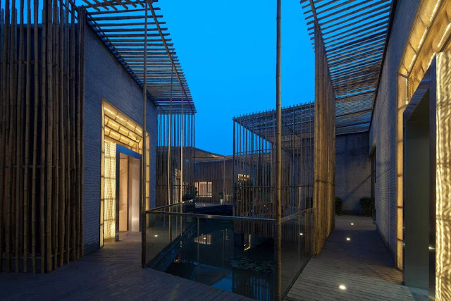 Bamboo Courtyard By Hwcd A As Architecture