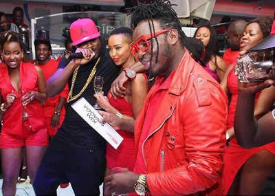 Huddah Monroe Red Avenue Party Club Guvnor Kampala Uganda Photos