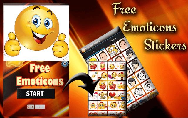 تحميل تطبيق Free Emoticons الافضل على الاطلاق للحصول على عدد كبير من رموز Emoji المميزة