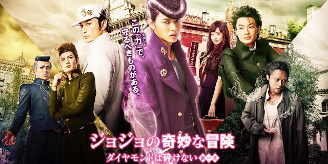 Sinopsis Film Jepang Jojo's Bizarre Adventure (2017)