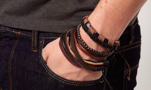 bcea91b3745 Macho Moda - Blog de Moda Masculina  Pulseiras e Braceletes ...
