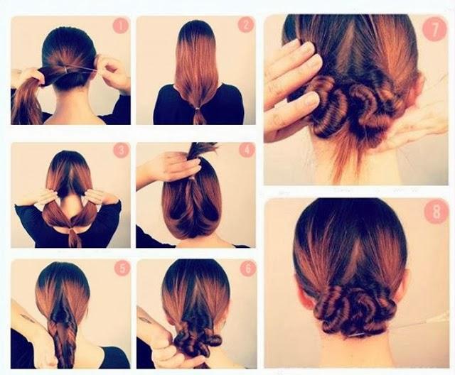 Peinados recogidos faciles de hacer en casa elainacortez - Peinados de moda faciles de hacer en casa ...