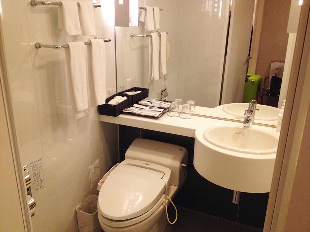 威斯特華麗飯店大阪 Hotel Vista Grande Osaka浴室