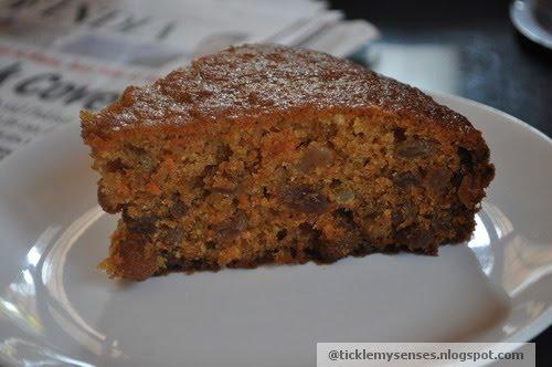 Healthy Moist Carrot Cake