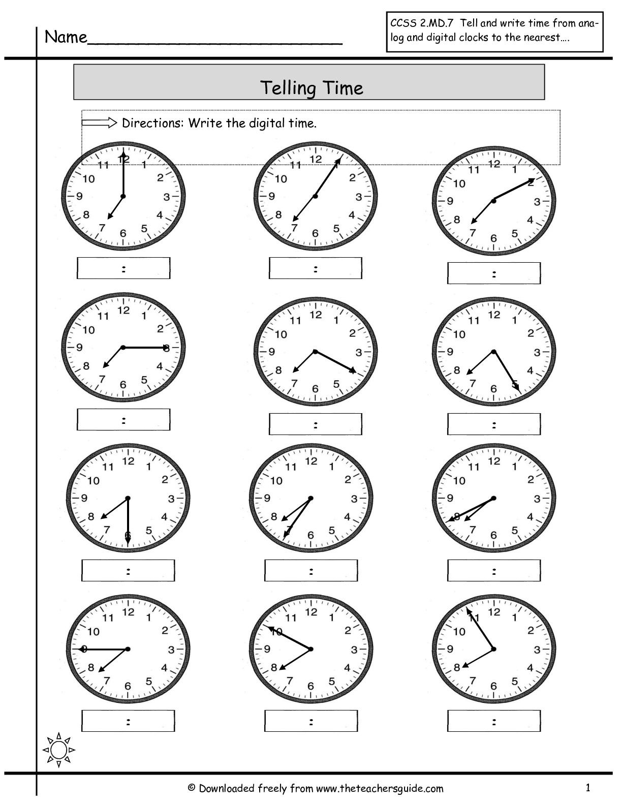 The City School Grade 3 Mathematics Revision Worksheets