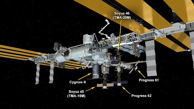 Lancement Atlas V / Cygnus OA-6 - 23 mars 2016 au KSC - Page 6 ISS_03-26-16
