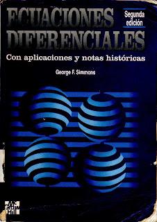 Ecuaciones diferenciales con aplicaciones y notas históricas, 2da Edición – George F. Simmons