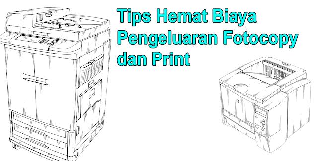 tips hemat fotocopy, trik mencetak, cara hemat print