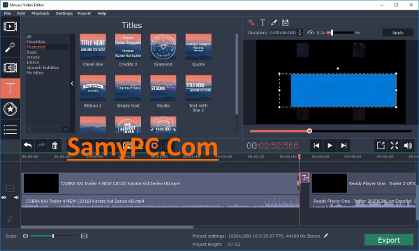 Movavi Video Editor Plus Free Download Full Latest Version