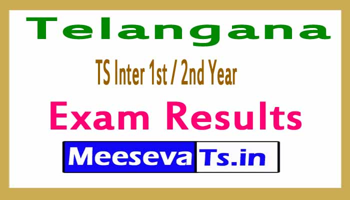 TS Inter 1st / 2nd Year Exam Results 2018