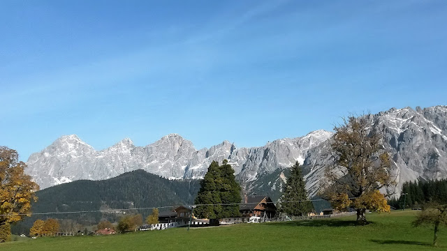 Ramsau maisema Itävalta alpit