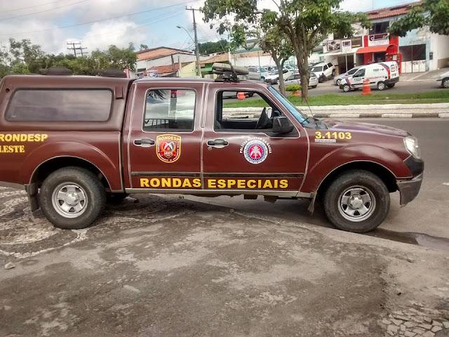 Rondesp chega para reforçar o policiamento em Alagoinhas, após morte de PM