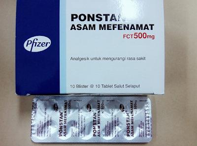 Harga, Dosis Obat Ponstan 500 Mg, Indikasi, Kontraindikasi, Dan Efek Samping
