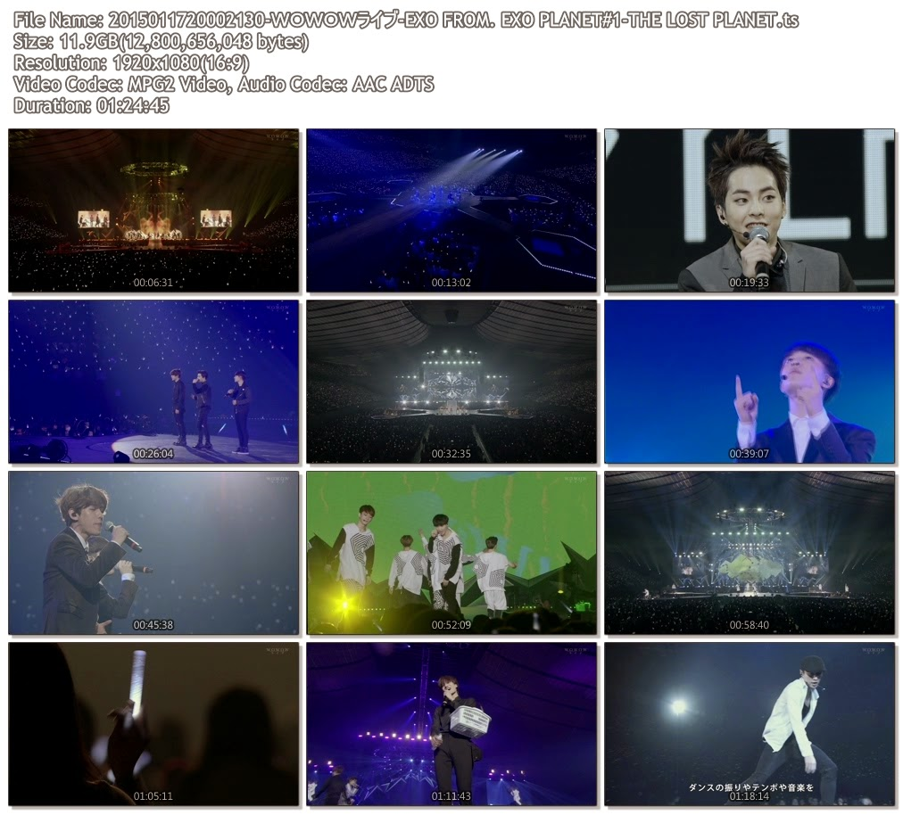 [Show] 150117 WOWOW EXO FROM. EXO PLANET#1-THE LOST PLANET