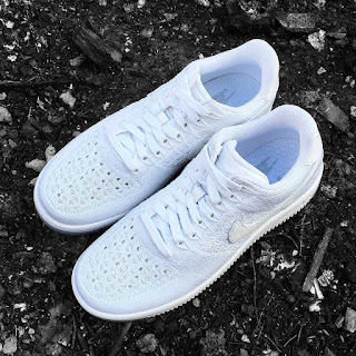 sepatu nike, sepatu nike air force, sepatu nike air force 1, sepatu nike air fprce one, Nike Air Force 1 Flyknit Low Ice, toko jual Nike Air Force 1 Flyknit Low Ice murah.