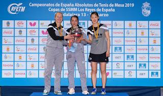 TENIS DE MESA - El UCAM Cartagena TM cosecha su 15ª Copa de la Reina