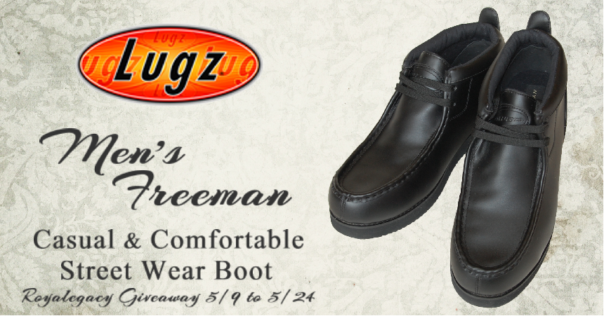 669143e8220 Lugz Freeman Boots - Casual Comfort For Around the Town -  Review     Giveaway - ends 5 24 US