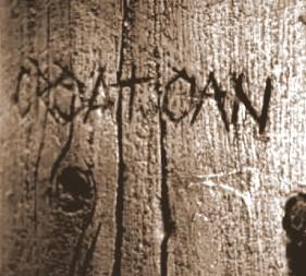 La misteriosa palabra escrita en Roanoke