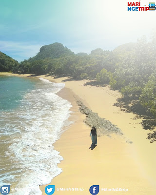 Pantai Bangsong Malang Mari Ngetrip